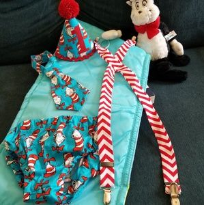 Cat in the hat cake photo Smash outfit